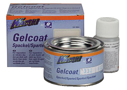 Gelcoat spackel