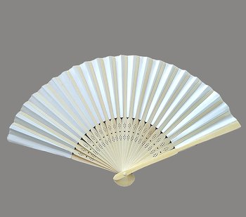 Fan  White paper on wood