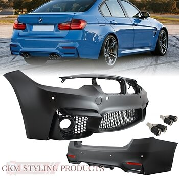 Body Kit F30 (2011-up) EVO II M3 Design with Dual Tips Carbon