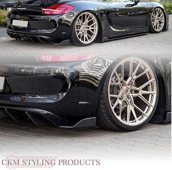 REAR SIDE SPLITTERS Porsche Cayman Mk2 981C