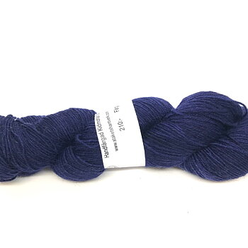 Handdyed Kid Mohair Sock Navy Blue
