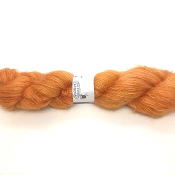 Handdyed Kidsilk Orange