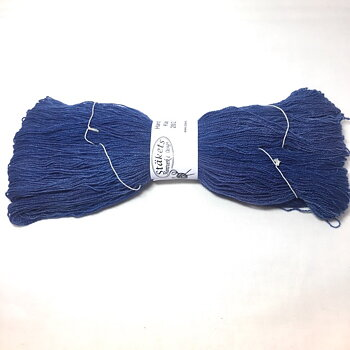 Handdyed Cashmere blue