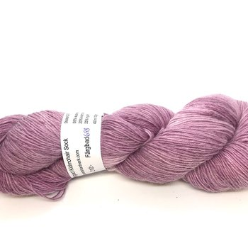 Handdyed Kid Mohair Sock Light Purple