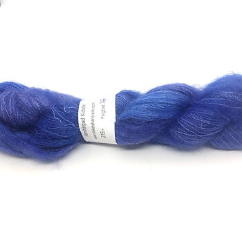 Handdyed Kidsilk Purple/Blue
