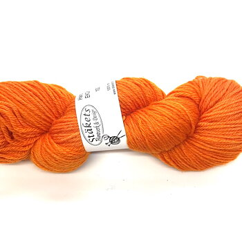 Handdyed ECOmerino Orange