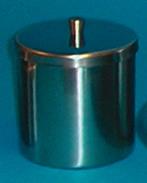 Burk med lock rfr 8½cm