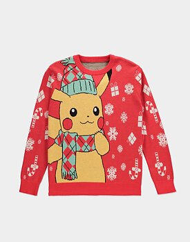 Pokémon - Knitted Christmas Jumper