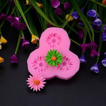 Silkonform - Blommor Daisy 1 form