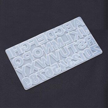 Silkonform - Stort Alfabet  1 form