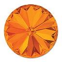 Swarovski crystals Rivoli - Tangerine 12mm, 1 styck