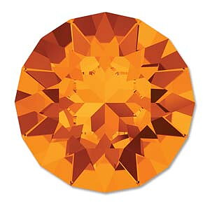 Swarovski Chaton 1088 SS39 - Tangerine 8mm 1 styck