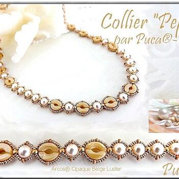 Mönster Halsband - Pepa