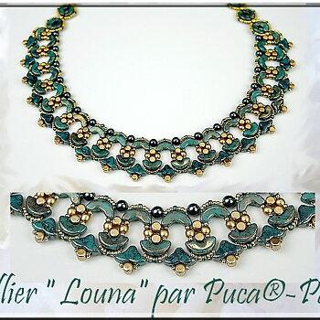 Mönster Halsband - Louna