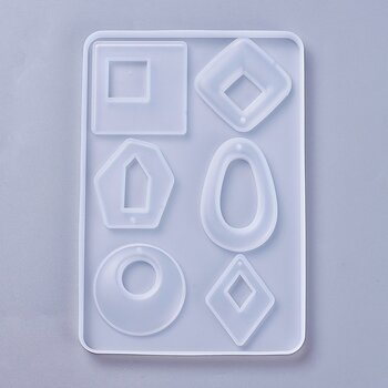 Silkonform - Mixade hängen IV 1 form