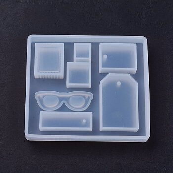 Silkonform - Mixade hängen och fyrkanter 1 form