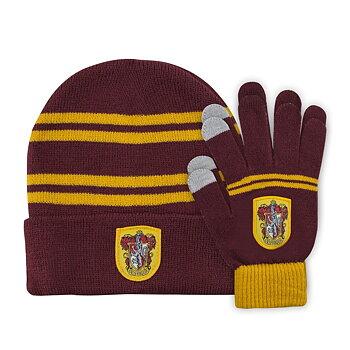 Harry Potter Mössa & Gloves Set for Kids Gryffindor