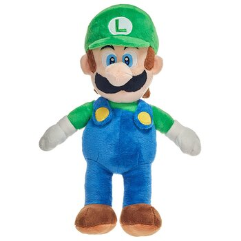 Mario Bros Luigi soft plush toy 35cm
