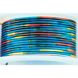 Artistic Wire 22 Ga - Multicolor Blue/Red/Gold, 1 rulle