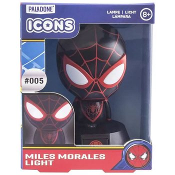 Marvel Spiderman Miles Morales Icon Light