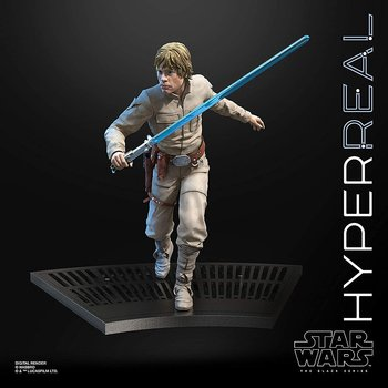 Star Wars Luke Skywalker hyperreal action figure