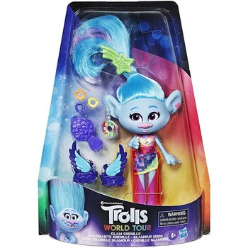 Trolls World Tour Chenille glam doll