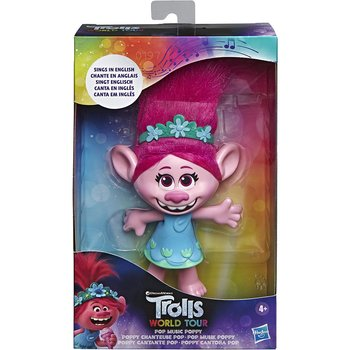 Trolls World Tour Poppy singing doll