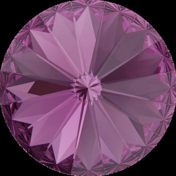 Swarovski crystals Rivoli - Amethyst 18mm, 1 styck