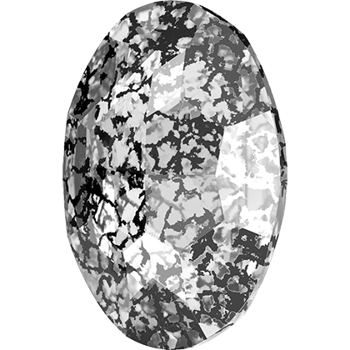 Swarovski crystals Big Fancy Oval (4127) - Crystal Black Patina, 30x22 mm, 1 styck