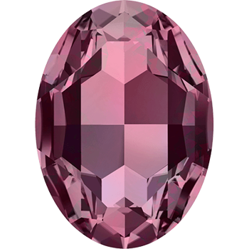Swarovski crystals Big Fancy Oval (4127) - Burgundy, 30x22 mm, 1 styck