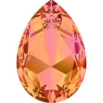 Swarovski crystals Large Fancy Pear (4327) - Astral Pink, 30x20 mm, 1 styck