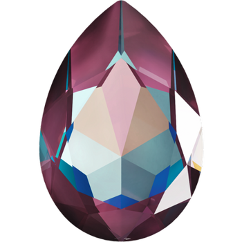 Swarovski crystals Large Fancy Pear (4327) -Burgundy Delite, 30x20 mm, 1 styck