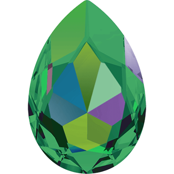 Swarovski crystals Large Fancy Pear (4327) - Crystal Vitrail Medium, 30x20 mm, 1 styck
