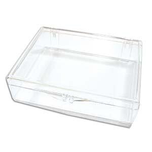 Pärlförvaring  - Ask för flip top askar, liten 1 styck