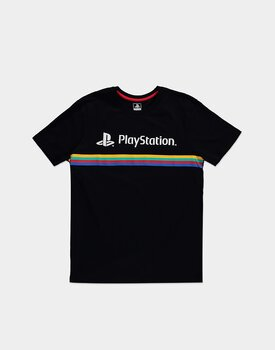 Sony - PlayStation - Color Stripe Logo - T-shirt