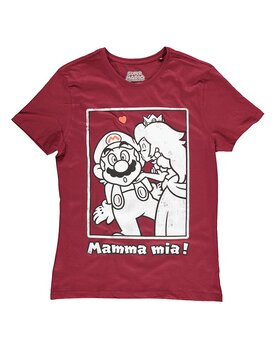Nintendo - Super Mario Peach Kiss T-shirt