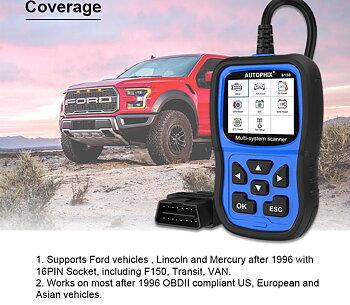 Felkodsläsare Ford - Autophix 6150