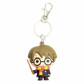 Harry Potter rubber keychain