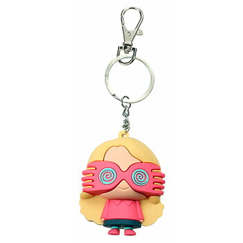 Harry Potter Luna Lovegood rubber keychain