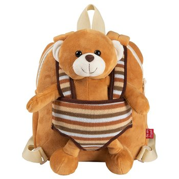 Benji Bear Ryggsäck with plush toy 25cm