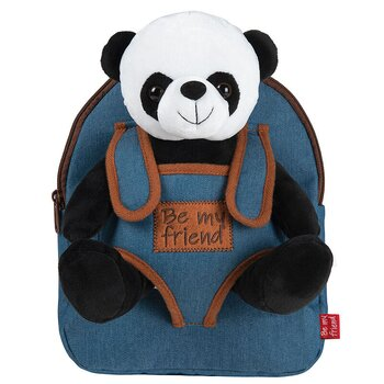 Paul Panda Ryggsäck with plush toy 27cm