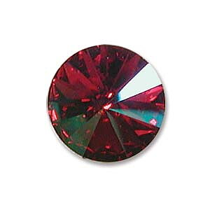 Swarovski crystals Rivoli - Fuchsia Purple Haze Foiled 14mm, 1 styck
