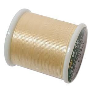 K.O pärltråd - Yellow 1 rulle