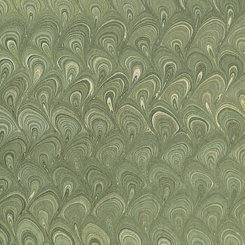Handmarmorerat, bukettmarmor, gröngrå