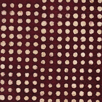 Batik with dots, poupre