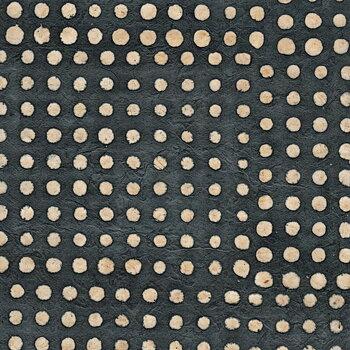 Batik with dots, gris