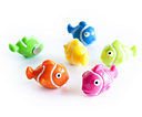 Magnets, Colourful Fishes, Set of 6, NEMO, Assorted