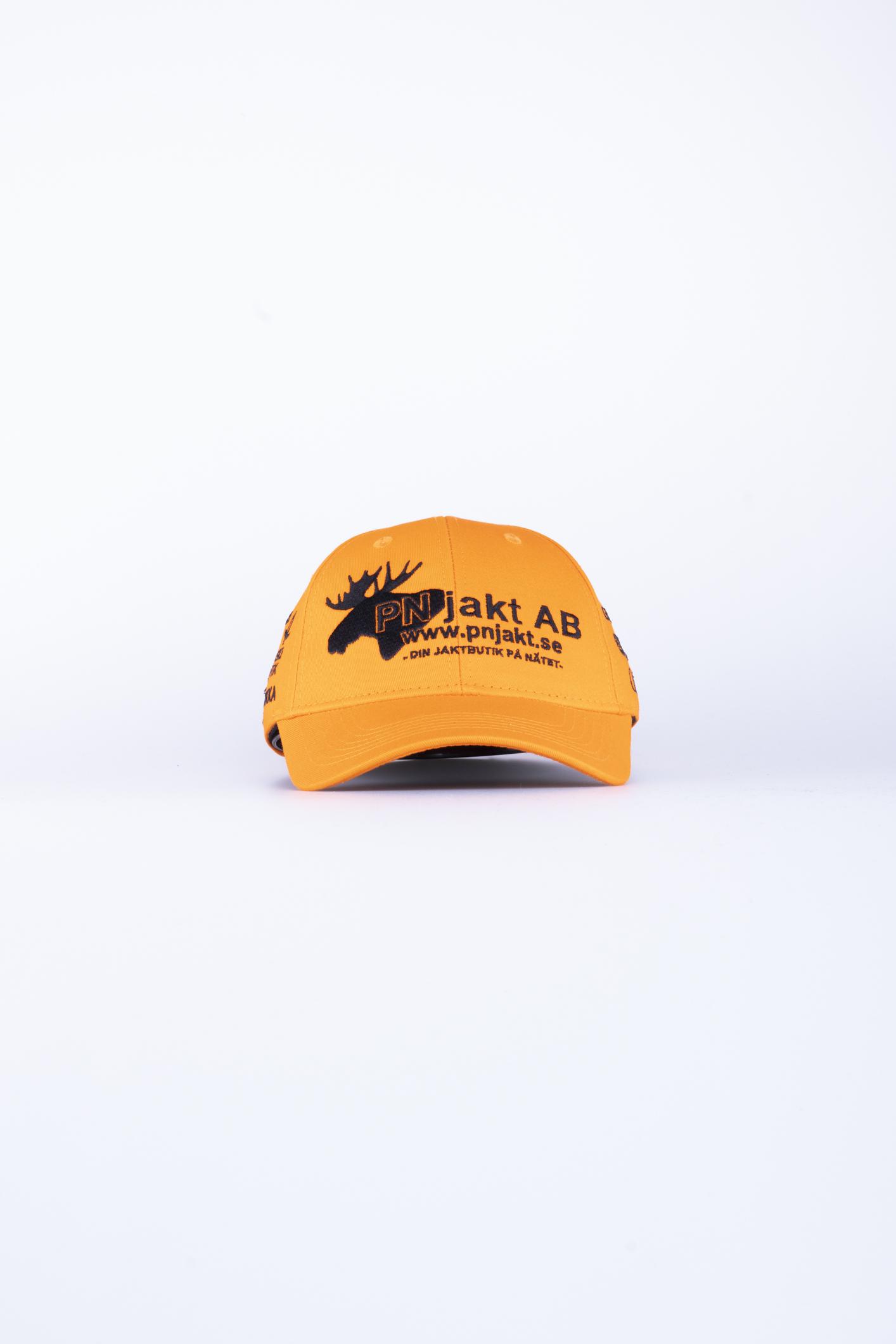 Keps Team PN Jakt Orange med böjd skärm