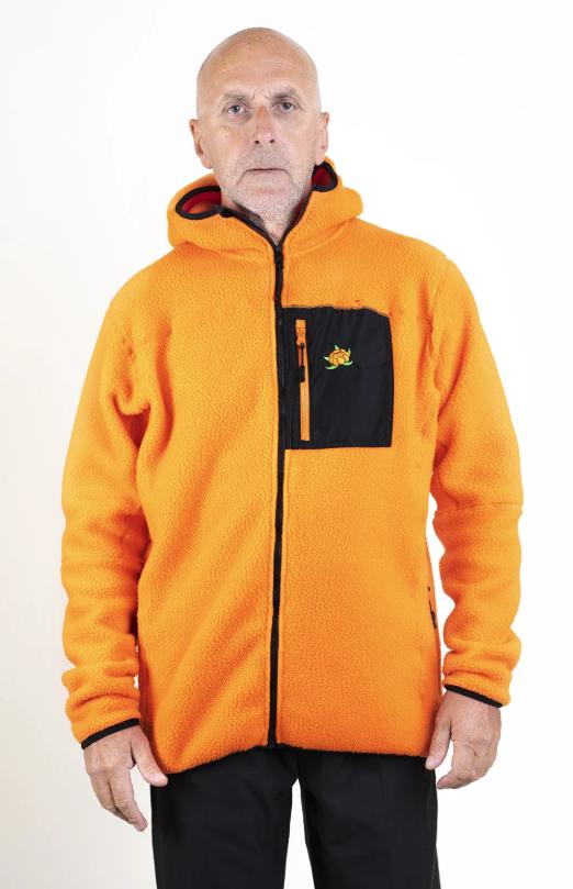 SQRTN CB Polar Ziphood Orange