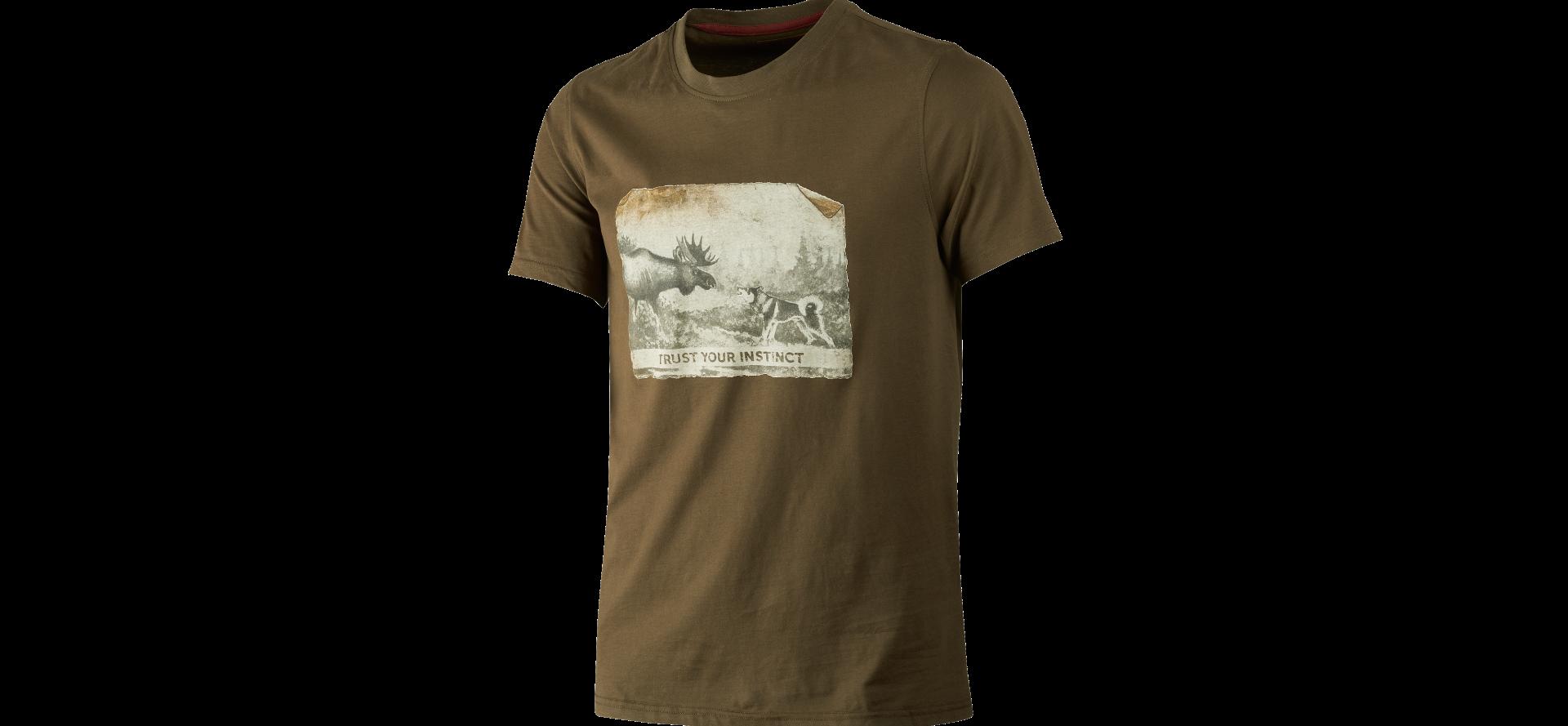 Härkila T-shirt Odin Moose & Dog UTFÖRSÄLJNING